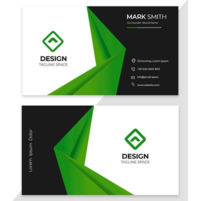 Business Card Design by Student of LCA