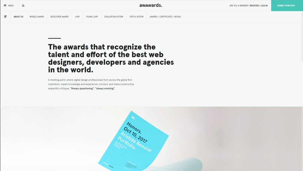 awwwards screenshot