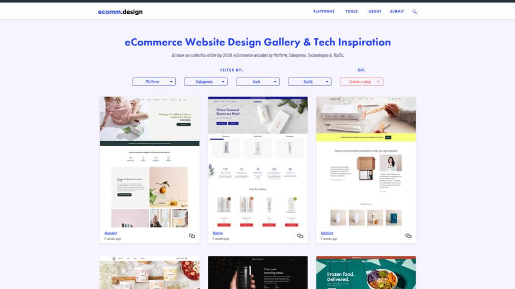 ecomm.design screenshot