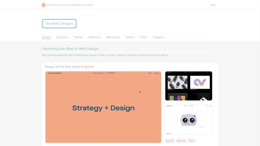 thebestdesigns.com screenshot