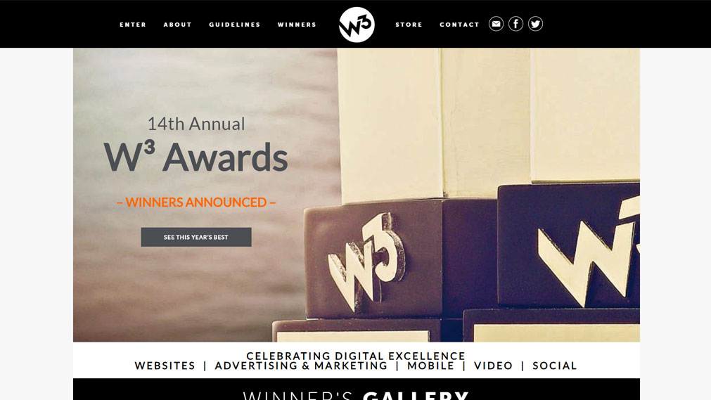 w3award Screenshot
